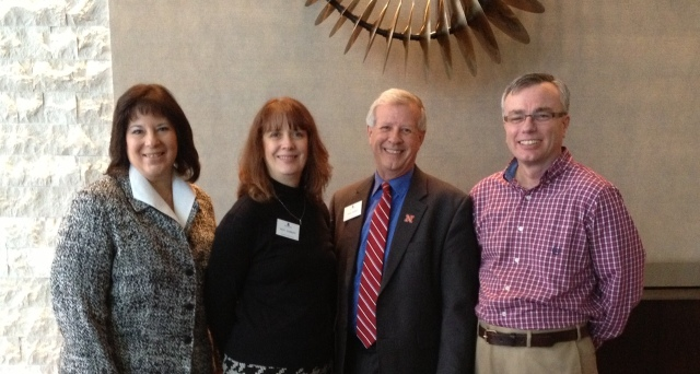 RMASFAA contingent on the NASFAA Board - hard at work !
